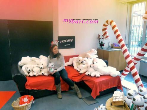 prodotti natalizi Lush Christmas Village 2016 Butterbear mybarr