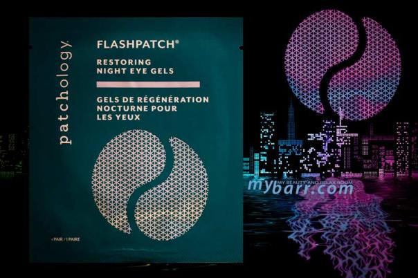 Patchology patch occhi Restoring Night Eye Gels di Patchology la maschera occhi in gel rinfrescante con retinolo mybarr