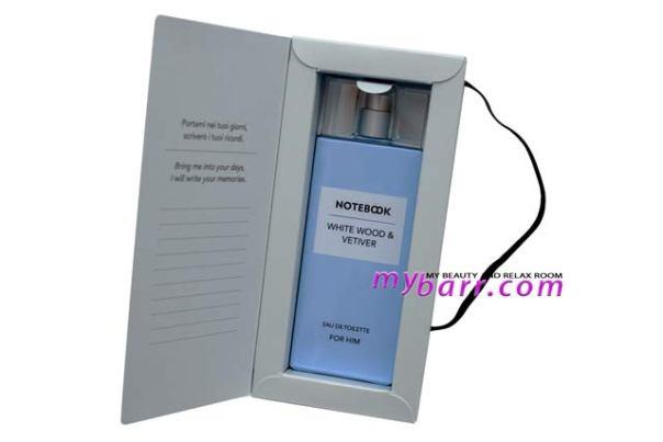 Notebook Fragrances profumo uomo