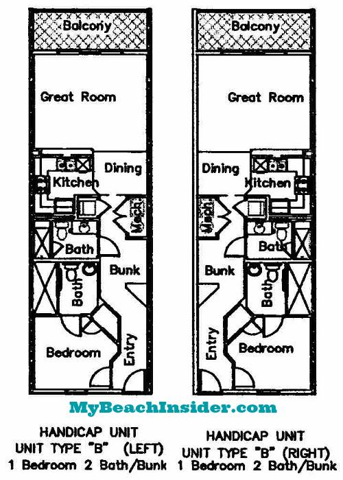 Seychelles Condominium Floor Plans