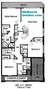 Celadon Beach Resort Condo Floor Plans