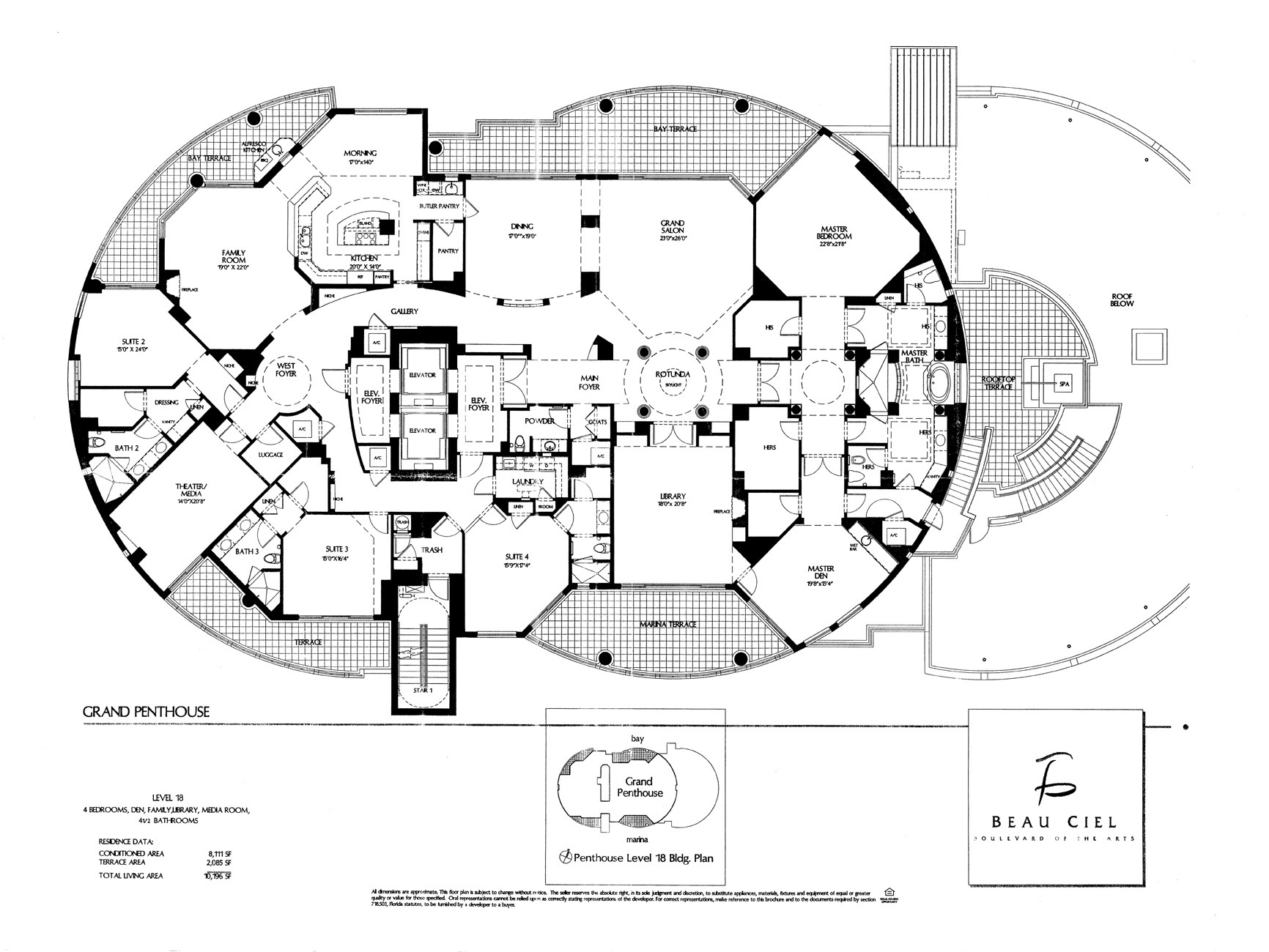 Beau Ciel Floor Plans
