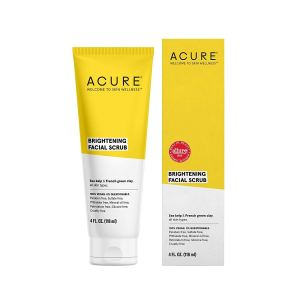 Acure exfoliator for sensitive skin