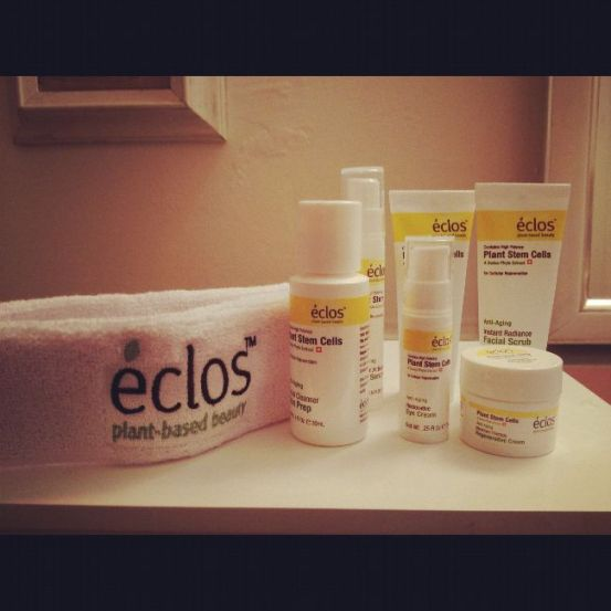 Eclos skin products