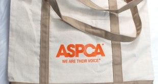 ASPCA tote bag