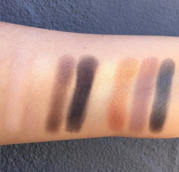 NARS Lamour Toujours Lamour Swatches