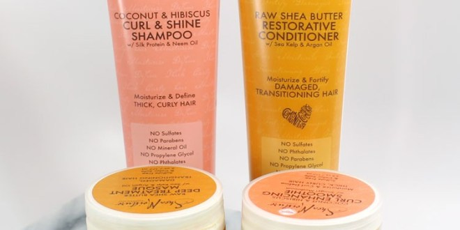 SheaMoisture Cruelty Free Hair Products
