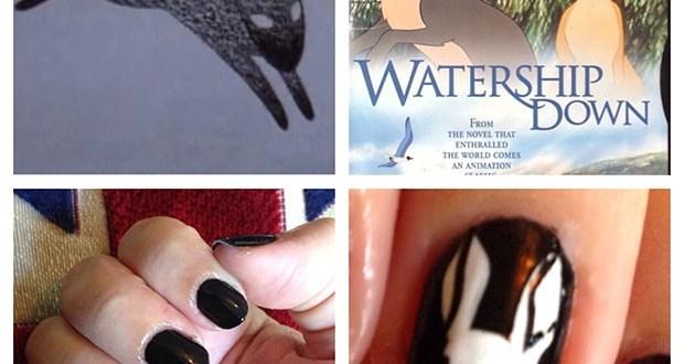 Watership Down Nails My Beauty Bunny GimmedatBecca