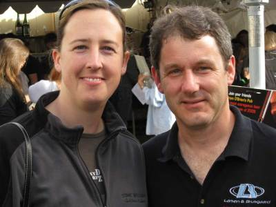 Amy and Bill Von Novak