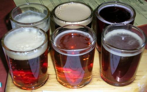 Six Beer Samples