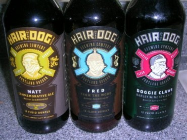 Bottles of Hair of the Dog