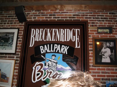 Breckenridge Brewpub in Denver