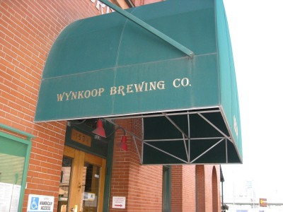 At Wynkoop Brewing right now