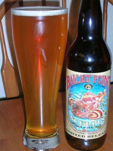 Ballast Point Brewing Co - Sculpin IPA