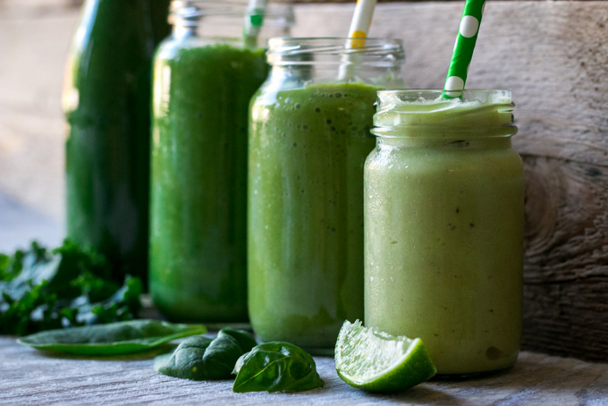 Healthy green smoothie guide 2