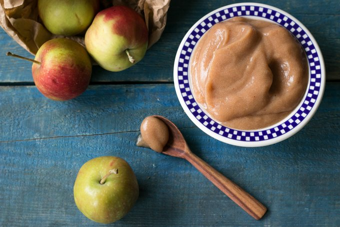 Healthy apple sauce 1