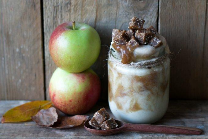 Caramel Apple Pie Smoothie