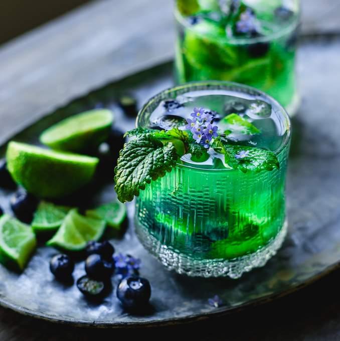 Magical Fruit Mocktails. Myberryforest.com