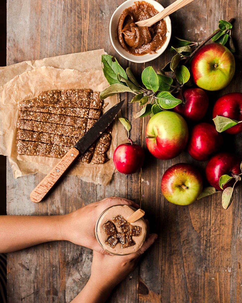 Karamelli omenapiirakka smoothie