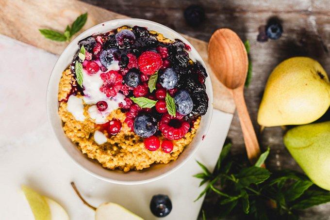 Happy Food Healing Turmeric Porridge (vegan, gf)