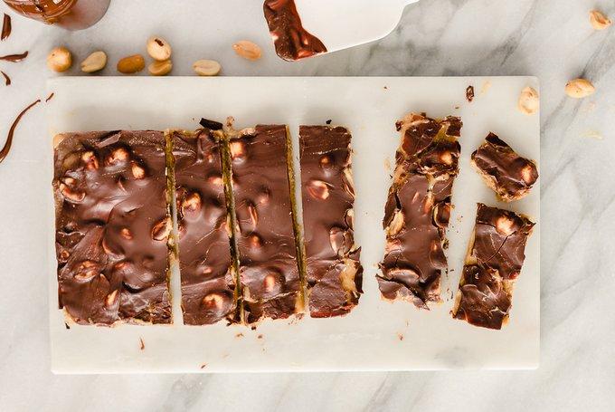 Vegaaninen snickers