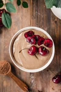 Walnut buckwheat chocolate smoothie