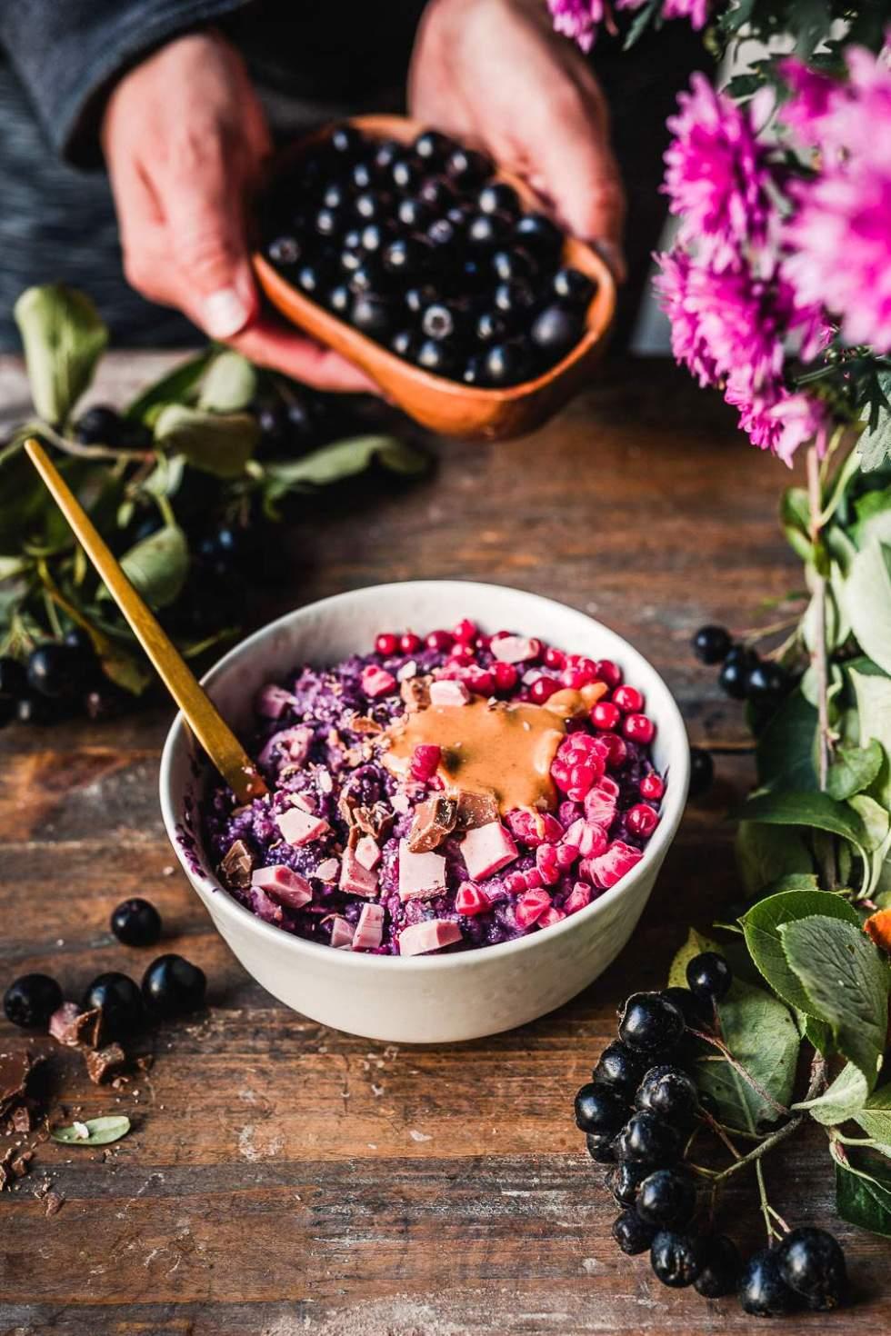 Luxury Berry Porridge