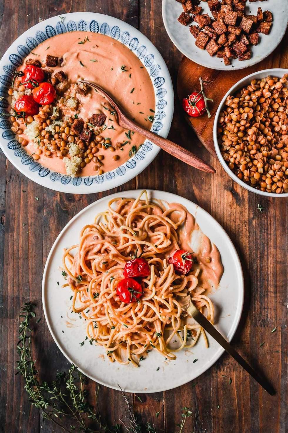 Tomaattikeitto ja talven meal preppaus