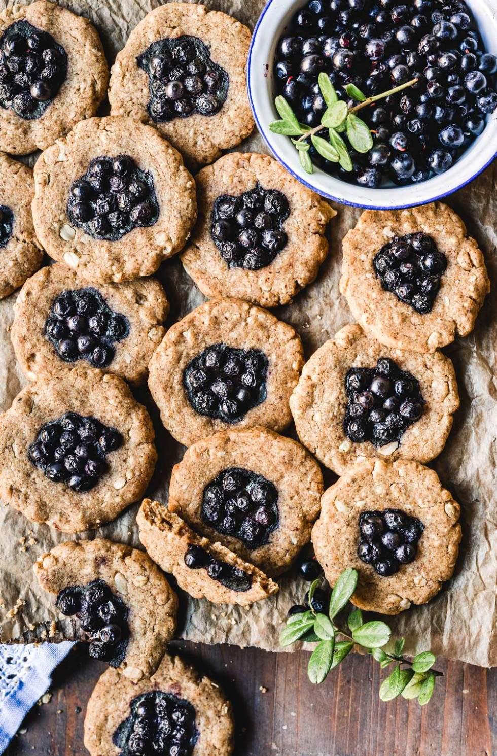 Fantastic Vegan Cookies - keksiresepti x 60