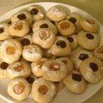 German Christmas Cookies: Angels Eyes