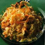 Authentic German Salad: Cabbage Carrot Salad