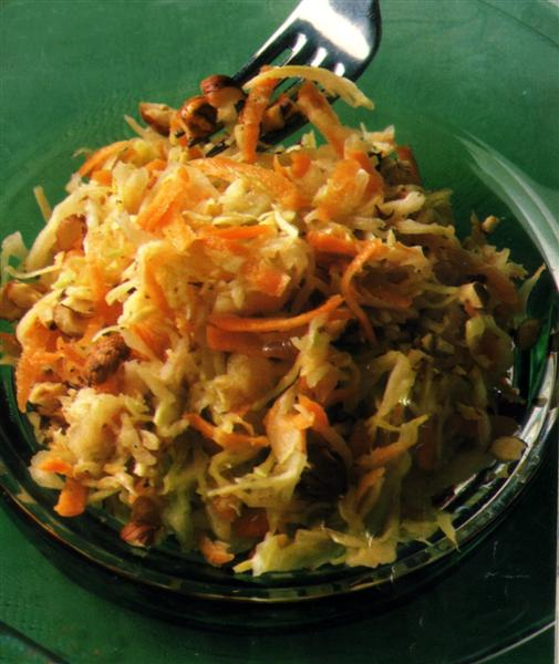 German Cabbage Carrot Salad