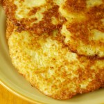 German Potato Pancakes or Reibekuchen