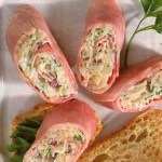 German Ham Rolls with Sauerkraut Filling