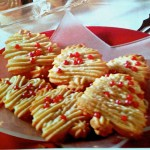 German Spritzgebaeck Cookies  for Christmas & Holidays