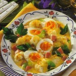 Egg Cauliflower Recipe - Meatless Dinner Option