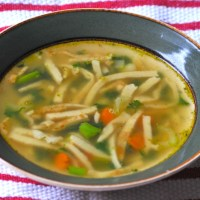 German Flaedle Soup - Best Soup of Germany