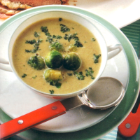 Authentic German Brussels Sprout Soup