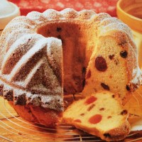 German Cherry Bundt Cake