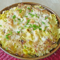 Sauerkraut Pasta Gratin - Authentic German Recipe