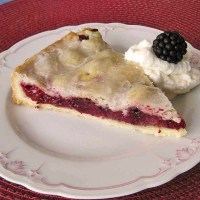 Authentic German Blackberry Cake or Pie