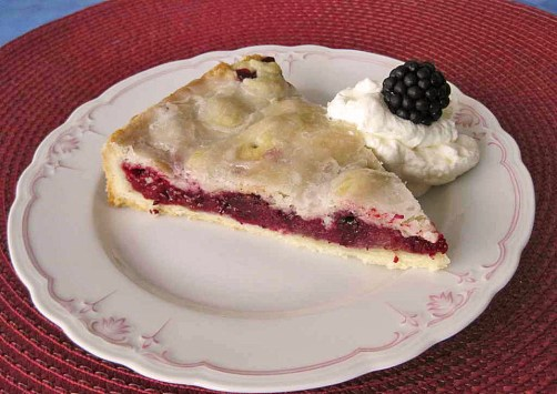 blackberry cake pie german