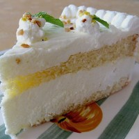German Lemon Torte - The Best Cake for Summer