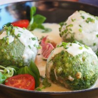 German Spinach Dumplings - Authentic Recipe