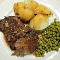 Bavarian Beef Roast - Authentic Recipe from Bavaria