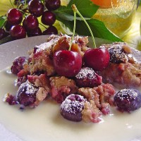 German Cherry Dessert - Kirschmichel