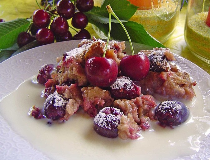 german Cherry Dessert