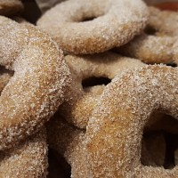 Cinnamon Rings - Austrian German Christmas Cookies