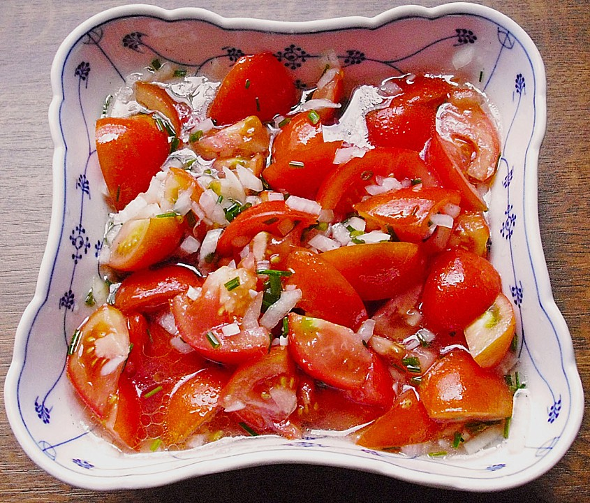 easy german tomato salad