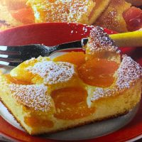 German Apricot Cheese Cake